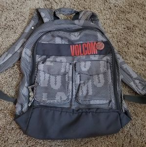 Volcom Backpack in great condition
